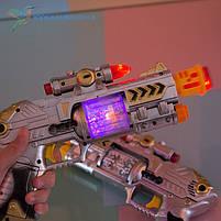 Дитячий іграшковий, пістолет світиться, фото 3