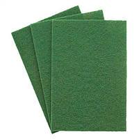 Шлифовальный лист из нетканого материала NPA400(темно-зеленый)152X229t //Klingspor