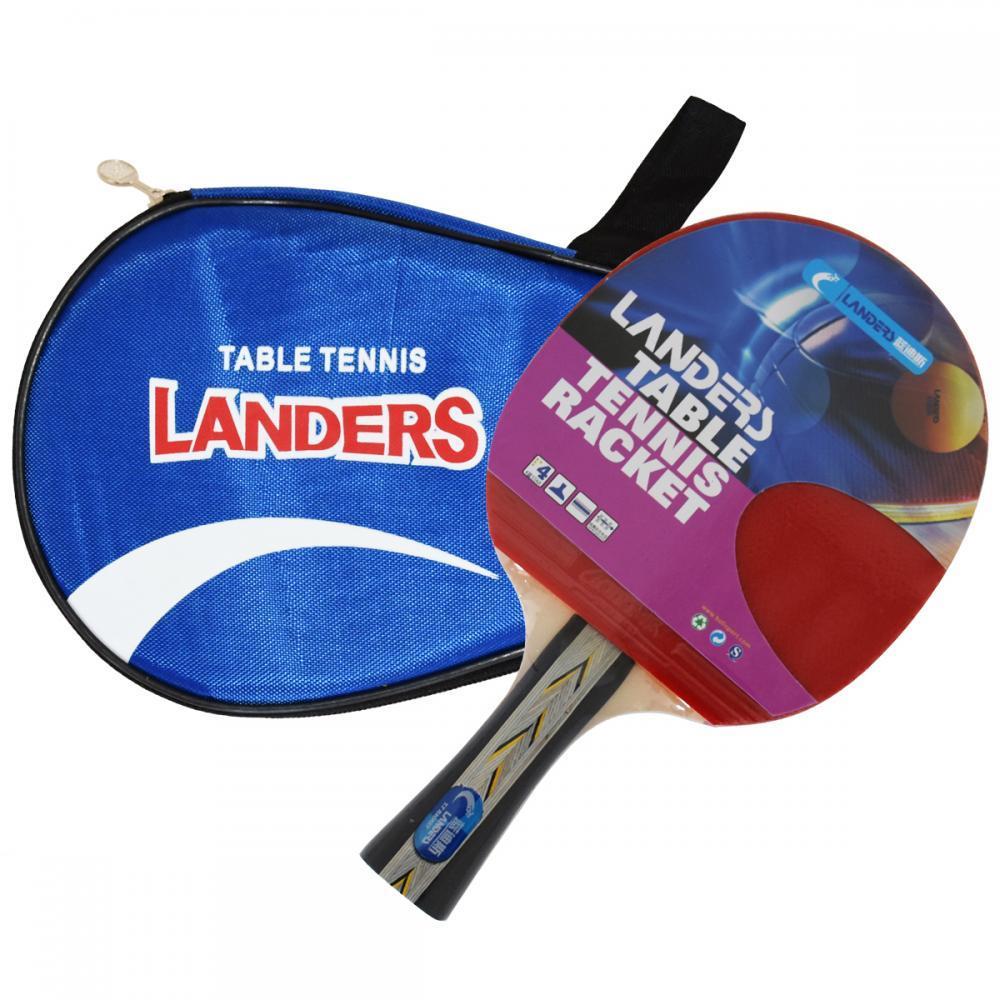 Набор для настольного тенниса Landers 4*: ракетка +чехол