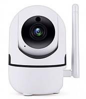 Беспроводная поворотная IP камера WiFi microSD UKC Y13G 1mp с распознаванием лиц, фото 1