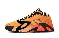 Кроссовки мужские Adidas StreetBall 31439 оранжевые, фото 1
