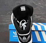 Мужские кроссовки Adidas Originals Varial MID 31465 черные, фото 6