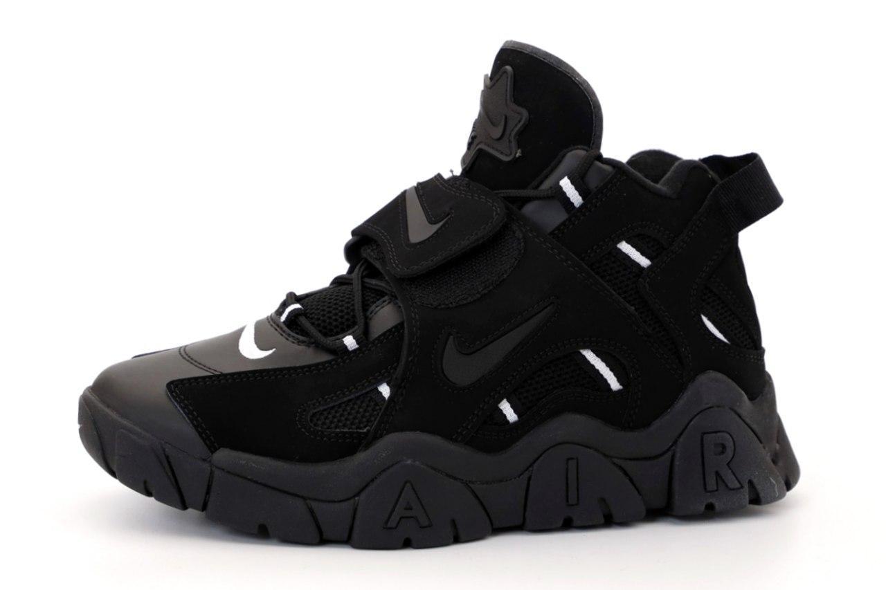 Мужские кроссовки Nike AIR BARRAGE 31478 черные