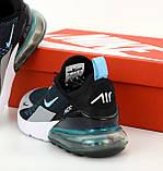 Мужские кроссовки NIKE AIR MAX 31495 черные, фото 6