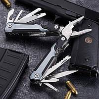 Нож многофункциональный Blackly grey М-16