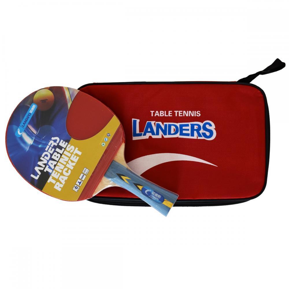 Набор для настольного тенниса Landers 6*: ракетка +чехол