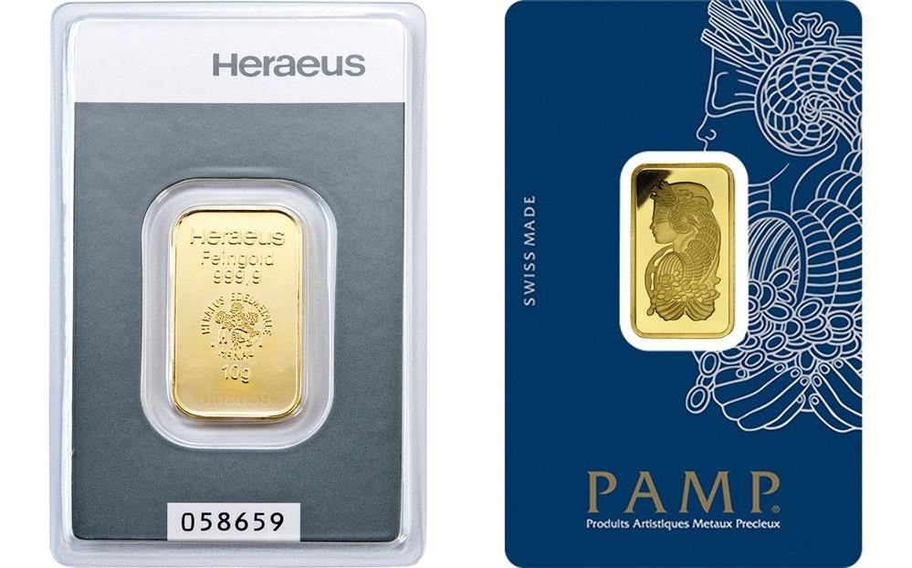 Слиток золота 10 грамм ПО ЛУЧШЕЙ ЦЕНЕ