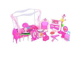 Кукольный домик для Барби 66885. Трехэтажный. 5 кукол, фото 2