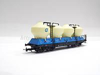 Bramos 3553 Модель спецвагона для перевозки цемента, масштаба H0, 1:87, фото 1