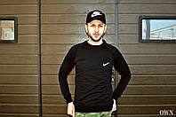 Мужской свитшот Nike демисезонный черный реплика, фото 1