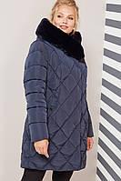 Куртка-пальто зимнее женское Валенсия