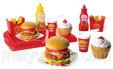 Игровой набор продуктов Французский бургер Ecoiffier 2623