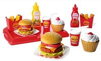 Игровой набор продуктов Французский бургер Ecoiffier 2623, фото 1