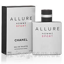 Туалетная вода для мужчин Chanel Allure Homme Sport 100ml