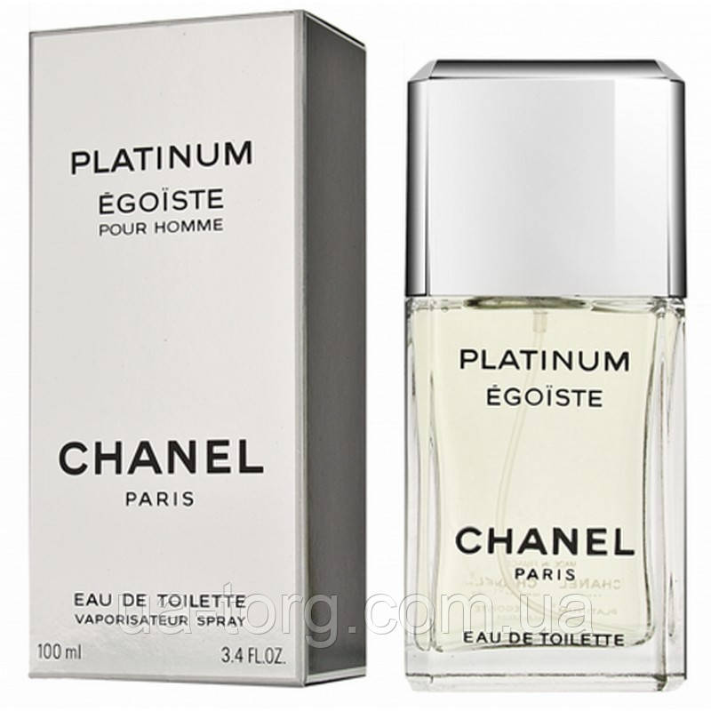 Туалетная вода для мужчин Chanel Egoiste Platinum (Шанель Эгоист Платинум)
