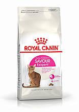 Сухой корм Royal Canin Savour Exigent для кошек, привередливых к вкусу корма 4 кг