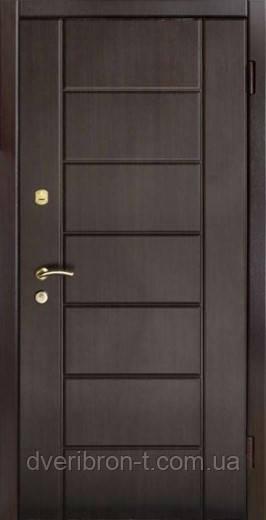 Входная дверь Форт Премиум Канзас улица венге 860х2050