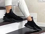 Женские кроссовки Adidas Y-3 Kaiwa (черные), фото 4