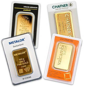 Слиток золота 100 грамм ПО ЛУЧШЕЙ ЦЕНЕ