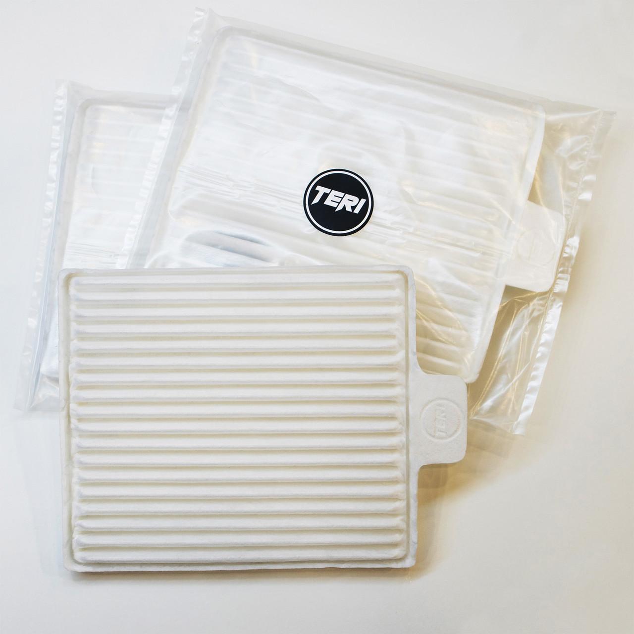 HEPA фильтры для встраиваемой маникюрной вытяжки Teri 500/Turbo (комплект 5шт)