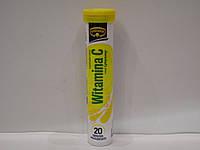Шипучие таблетки-витамины Kruger Vitamina C 20 шт