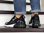 Мужские кроссовки Nike Air Max 270 (черно-белые), фото 2