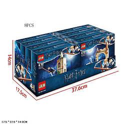 Конструктор JLB 3D100-1/4H (30уп по 8шт/2) Harry Potter, 86,95,86,82 дет., 4 види, 8 шт у боксі 37,6*17,5*14 с