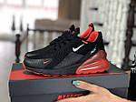 Женские кроссовки Nike Air Max 270 (черно-красные) - Индонезия, фото 4