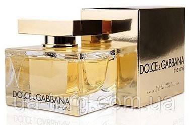 Парфюмированная вода для женщин Dolce&Gabbana The One Women ,75 мл