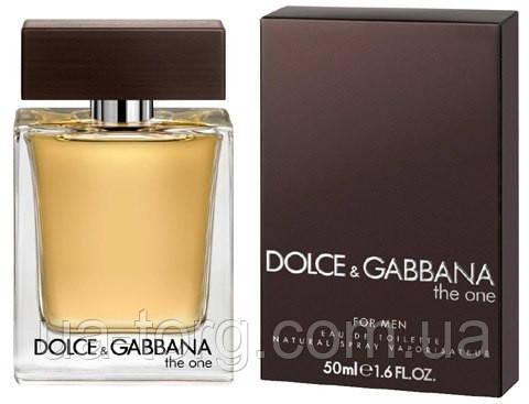 Мужской парфюм Dolce&Gabbana The one for Men (Дольче Габбана Зе Ван фо Мен)