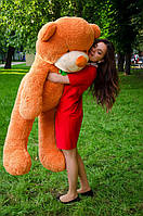 Огромный плюшевый мишка 160 см большой ведмедь