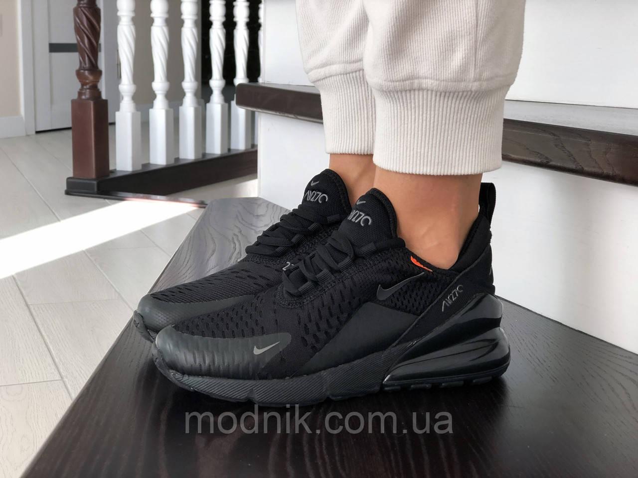 Женские кроссовки Nike Air Max 270 (черные) - Индонезия