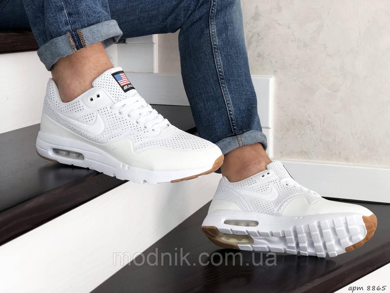 Чоловічі кросівки Nike Air Max 1 Ultra Moire (білі) - Рефлектив - Індонезія
