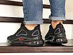 Мужские кроссовки Nike Air Max 720 (черно-фиолетовые), фото 2