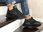 Мужские кроссовки Nike Air Max 720 (черно-фиолетовые), фото 4