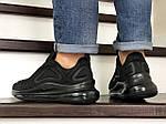 Чоловічі кросівки Nike Air Max 720 (чорні), фото 2