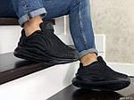 Чоловічі кросівки Nike Air Max 720 (чорні), фото 3