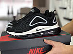 Мужские кроссовки Nike Air Max 720 (черно-белые), фото 4