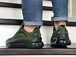 Мужские кроссовки Nike Air Max 720 (темно-зеленые), фото 4
