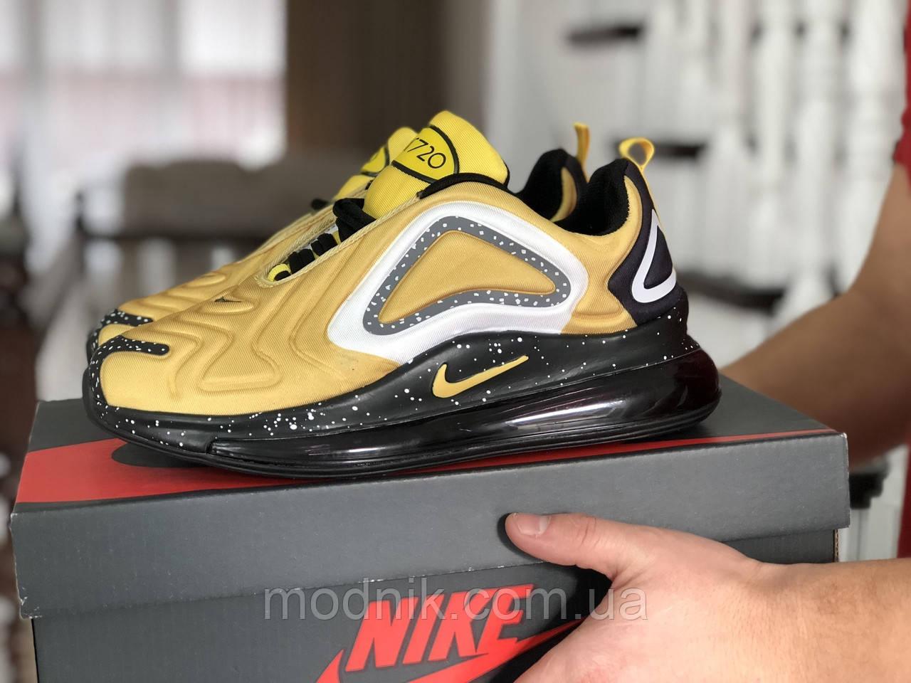 Мужские кроссовки Nike Air Max 720 (желтые)
