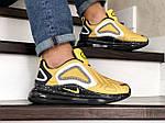 Мужские кроссовки Nike Air Max 720 (желтые), фото 2