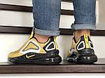 Мужские кроссовки Nike Air Max 720 (желтые), фото 3