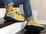 Мужские кроссовки Nike Air Max 720 (желтые), фото 4