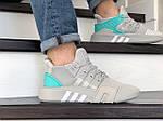 Мужские кроссовки Adidas Equipment adv 91-18 (светло-серые), фото 3
