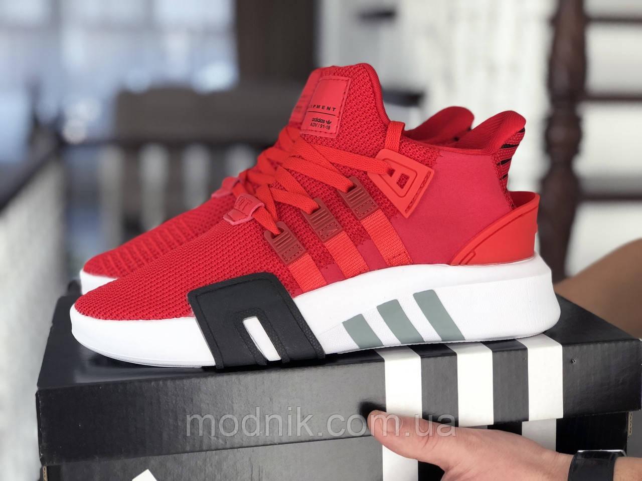 Мужские кроссовки Adidas Equipment adv 91-18 (красные)