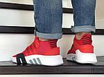 Мужские кроссовки Adidas Equipment adv 91-18 (красные), фото 3