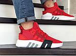 Мужские кроссовки Adidas Equipment adv 91-18 (красные), фото 4