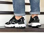 Чоловічі кросівки Adidas Ozweego TR (чорно-білі) - весна-осінь, фото 3