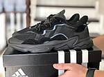 Мужские кроссовки Adidas Ozweego TR (черные) - весна-осень, фото 2