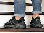 Мужские кроссовки Adidas Ozweego TR (черные) - весна-осень, фото 3